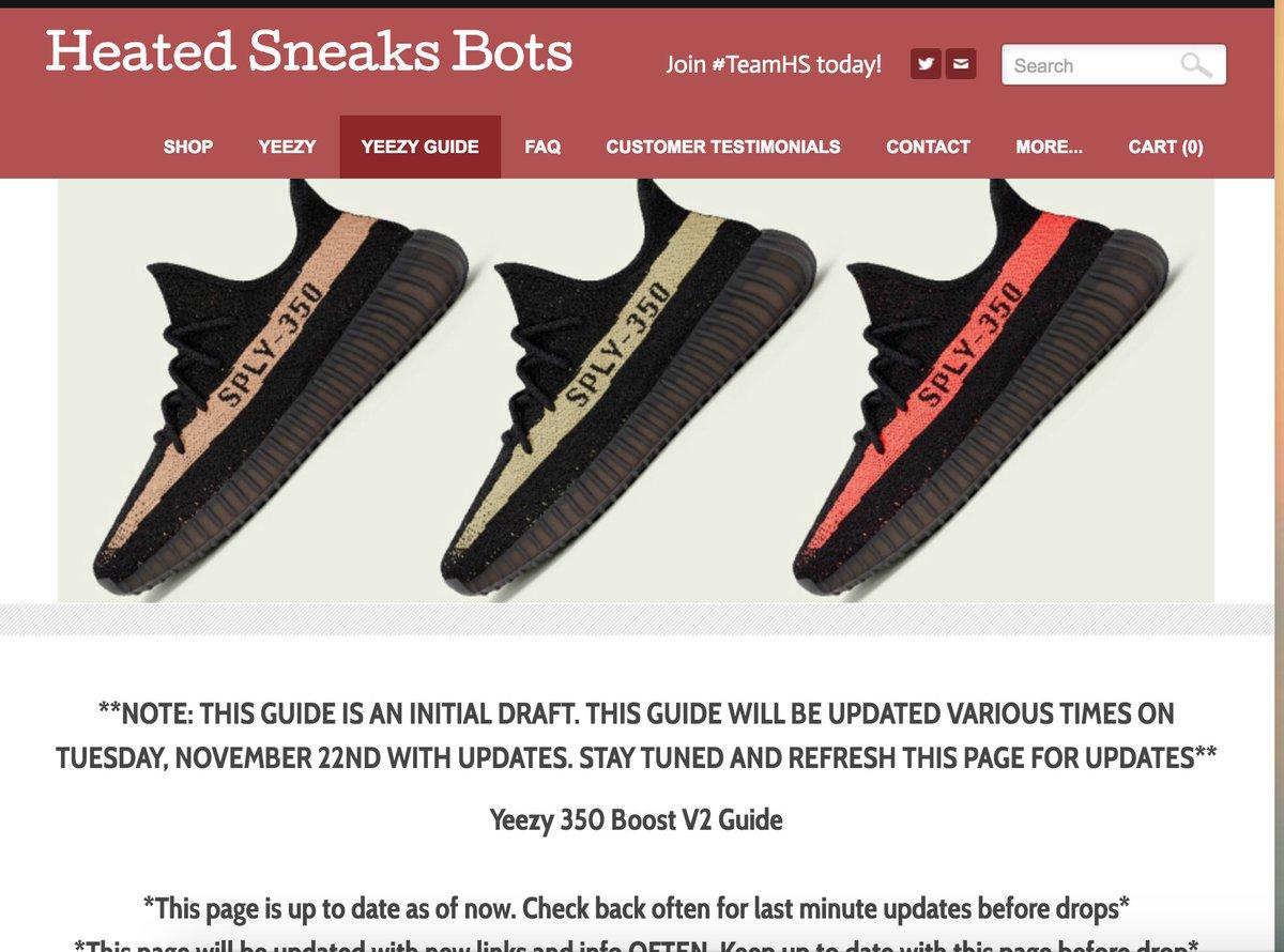 b158427d1d97c Heated Sneaks Bots on Twitter