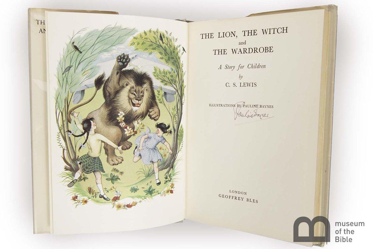 lion witch wardrobe bible