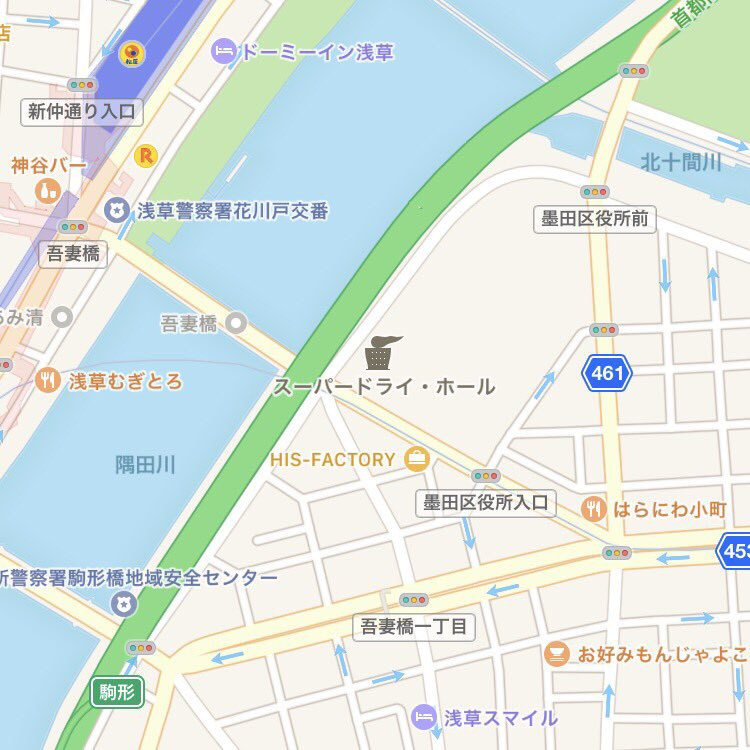 iOSのマップアプリ、アイコンの芸が細かい https://t.co/xFv6vWSvoB