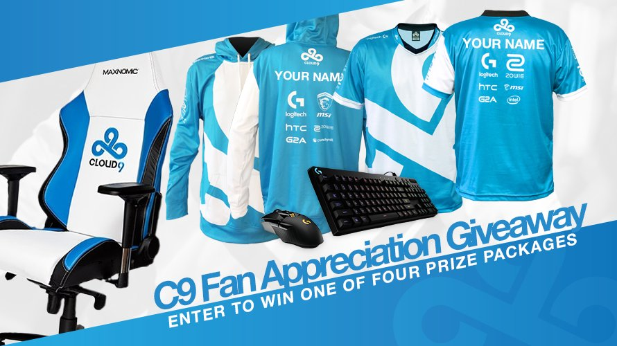 Help us win 'Best Esports Org' and you could win customized Cloud9 swag! https://t.co/RlIQjEFJ8c