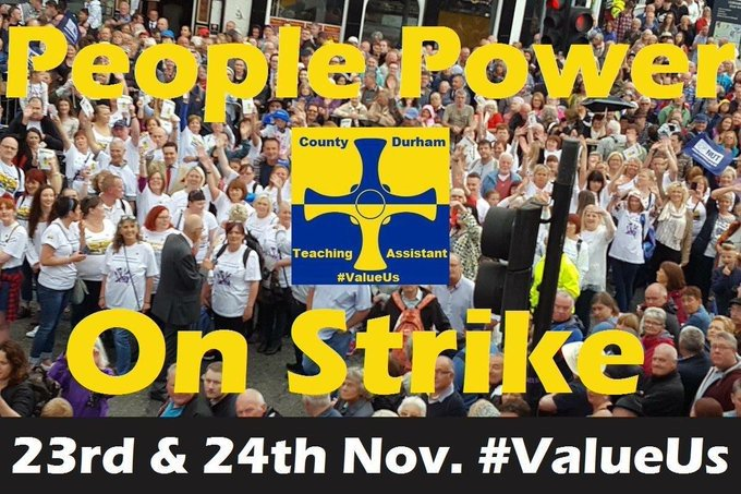 @DurhamCouncil Get it sorted! Don't turn @TAs_Durham into JAM! #nopaycuts #valueus https://t.co/GCQEWoOl6z
