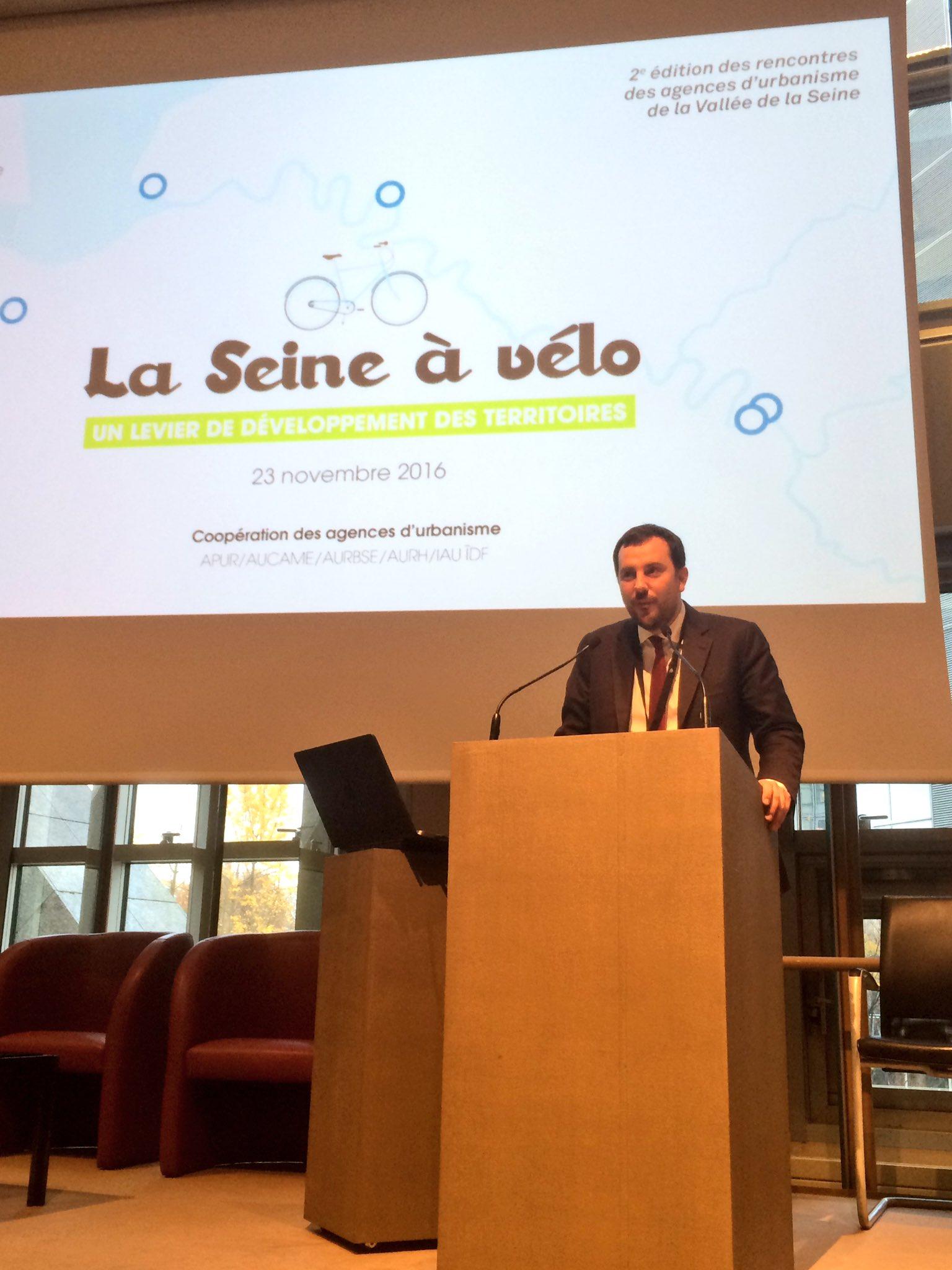 Simon du Moulin, directeur de l'@aurh_officiel annonce l'ouverture du site https://t.co/imBR4KmSOG  #veloseine https://t.co/Ef1tKQYnTt