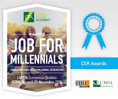 #j4m2016 #aziende e #orientamento ➡️HRC premia l'impegno delle imprese con il CSR AWARD 🏆 @s_tuttitalenti https://t.co/Y8j7bWZYls