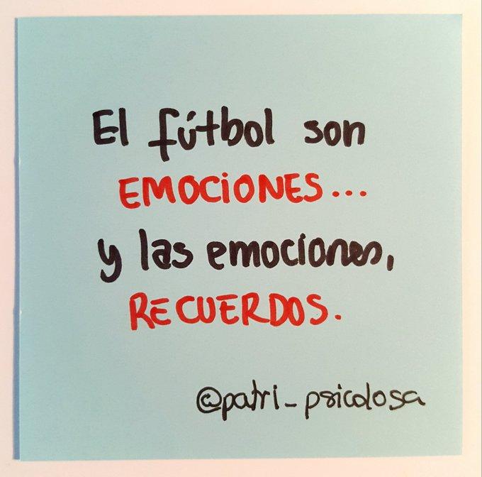 'Al final, quedan los recuerdos'  El fútbol son emociones, y las emociones, recuerdos. via @marca - https://t.co/KvYJKk5wfW
