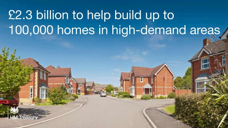 Housing gets £4bn boost to increase number of new homes