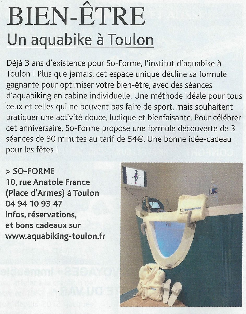 Media Tweets by So-Forme Toulon (@valdenorvege) | Twitter