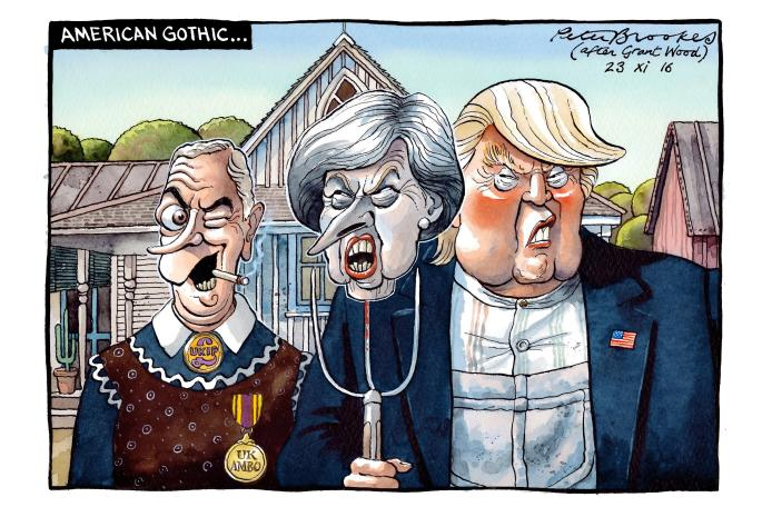 Peter Brookes On Twitter My Cartoon Wednesday TheTimes American