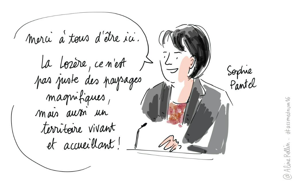 Mot d'accueil de @SophiePantel48 pour l'ouverture des #assmednum16 https://t.co/xYkz0MJnEq