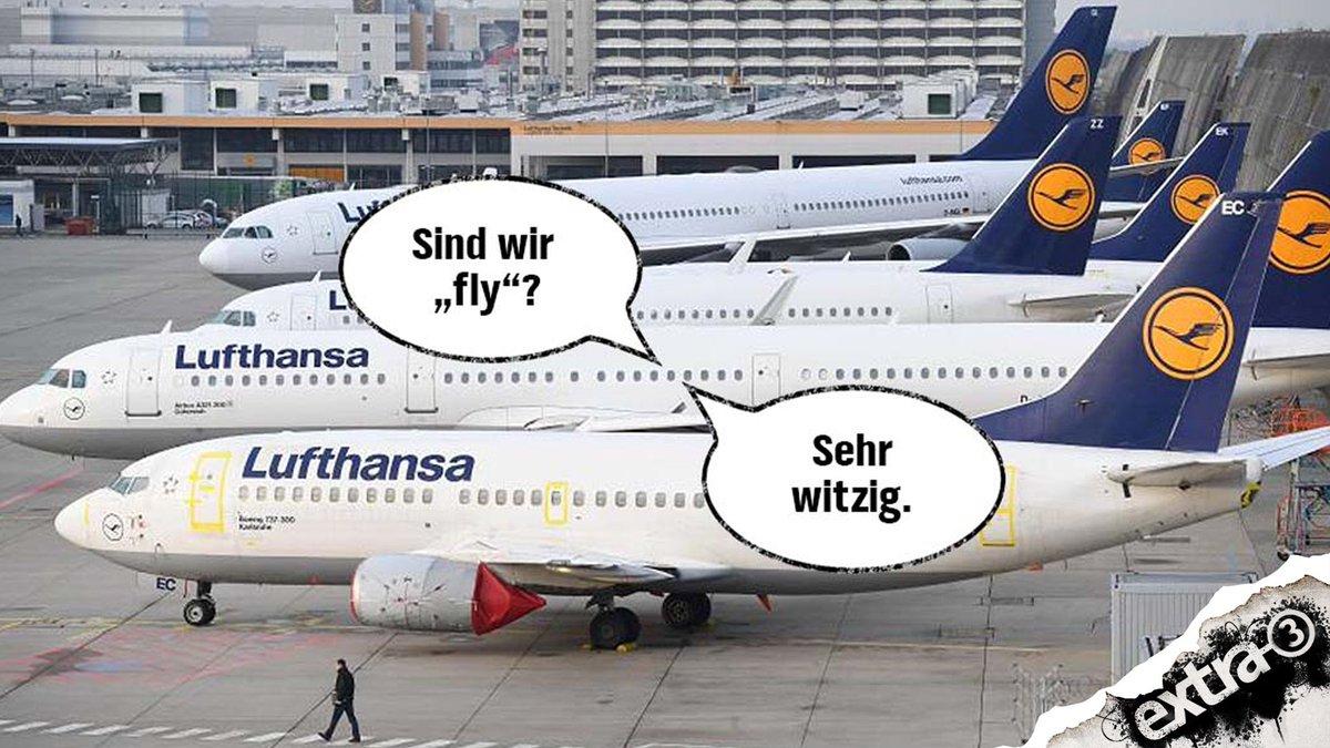 Was ist das für 1 Streik, #Lufthansa? Vong Jungendwort her. #lufthansastreik