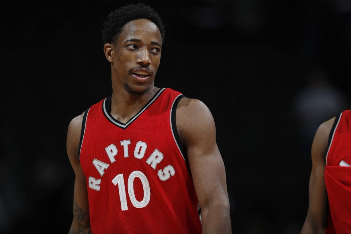 DeMar DeRozan Wants To Be Known As Greatest Raptor In Franchise History  ... 739a20294