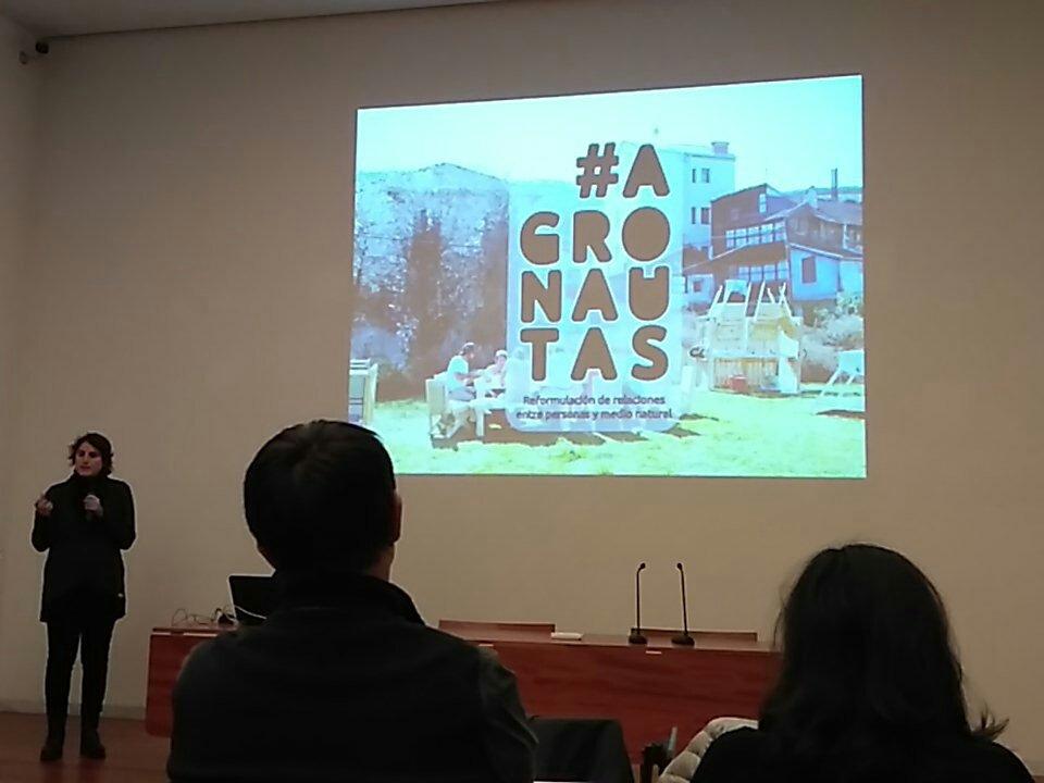 Lehenengo esperientzia: #agronautas @pezestudio  #urbanbat16 https://t.co/Q15jsXbx6r