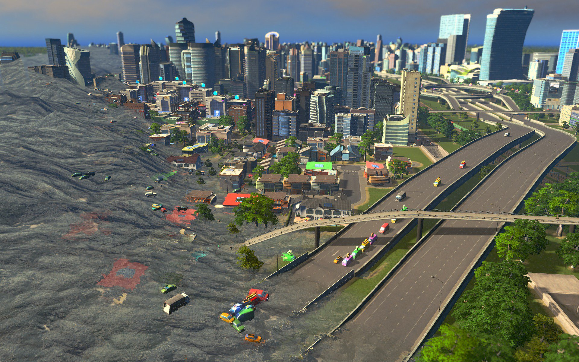 City Skylines Natural Disasters Mod
