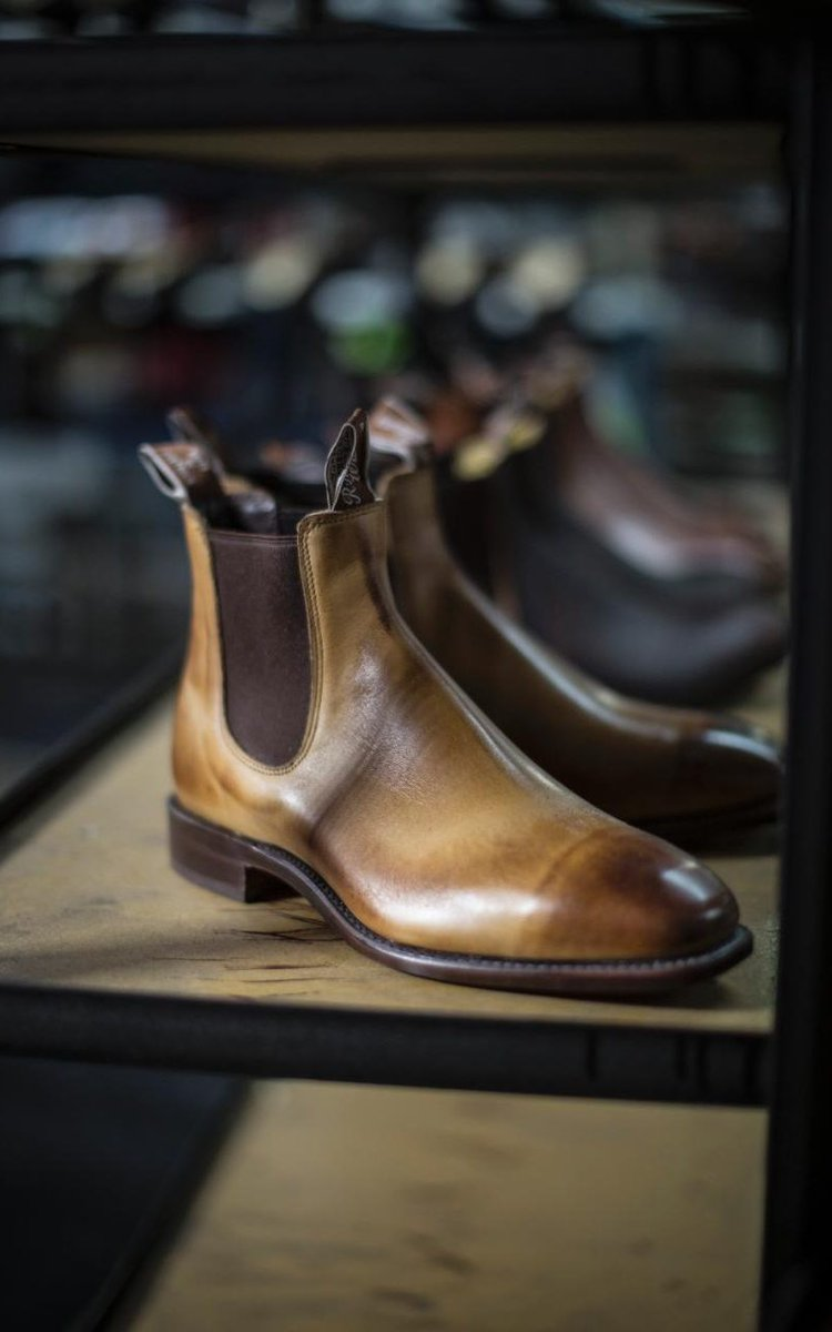 Heritage styles from the 1930s inspired @RMWilliamsUK's elegant range of leather boots