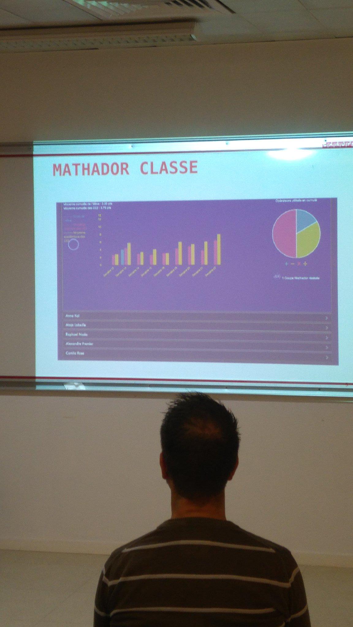 #UNY89 présentation de  #mathador classe et des statistiques des élèves en atelier @reseau_canope https://t.co/u9vpcYDlET