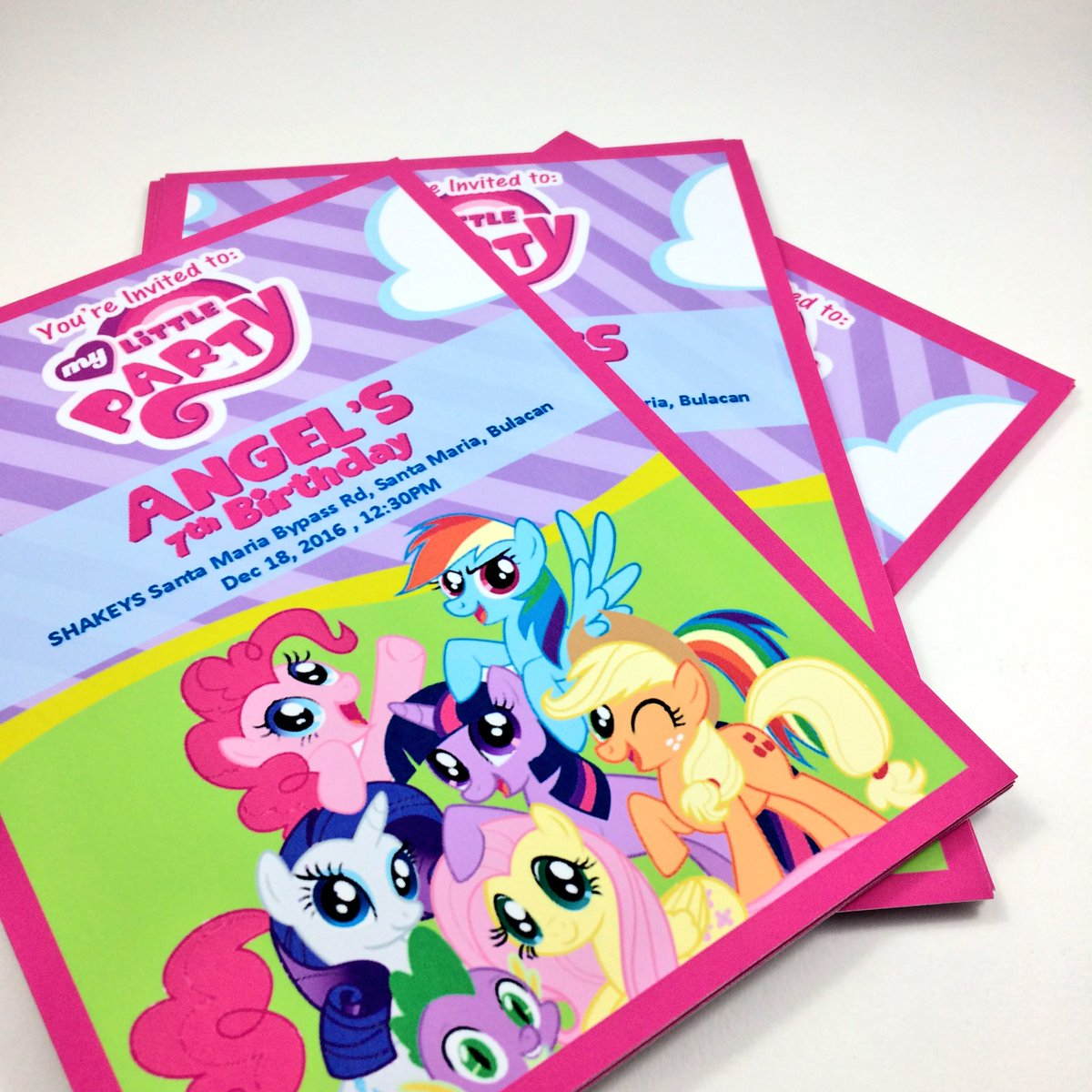 Grafico Official PH On Twitter Angelas My Little Pony Themed 1st