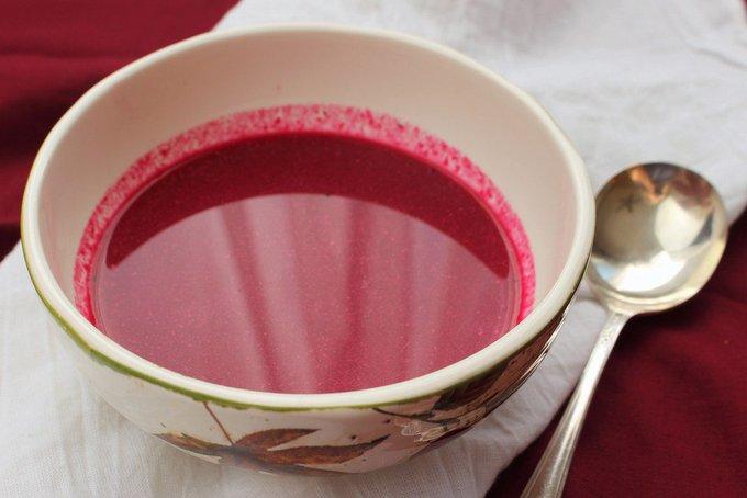 Cranberry Borscht #CranberryWeek