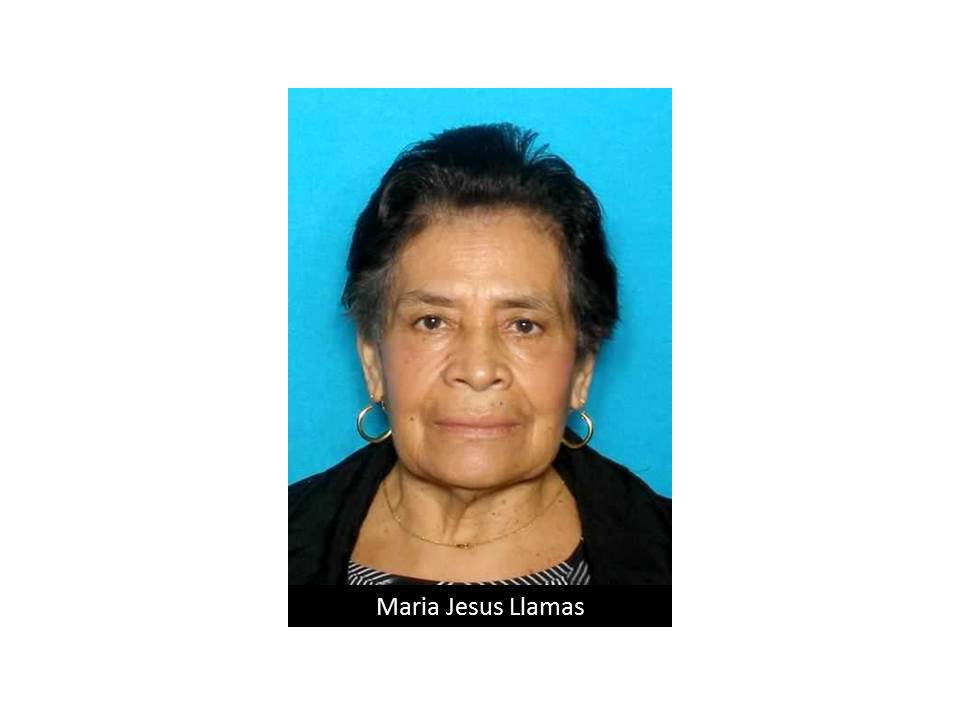 ACTIVE SILVER ALERT for Maria Jesus Llamas from San Antonio, TX, on 11/23/2016 https://t.co/NLTiSavSBV