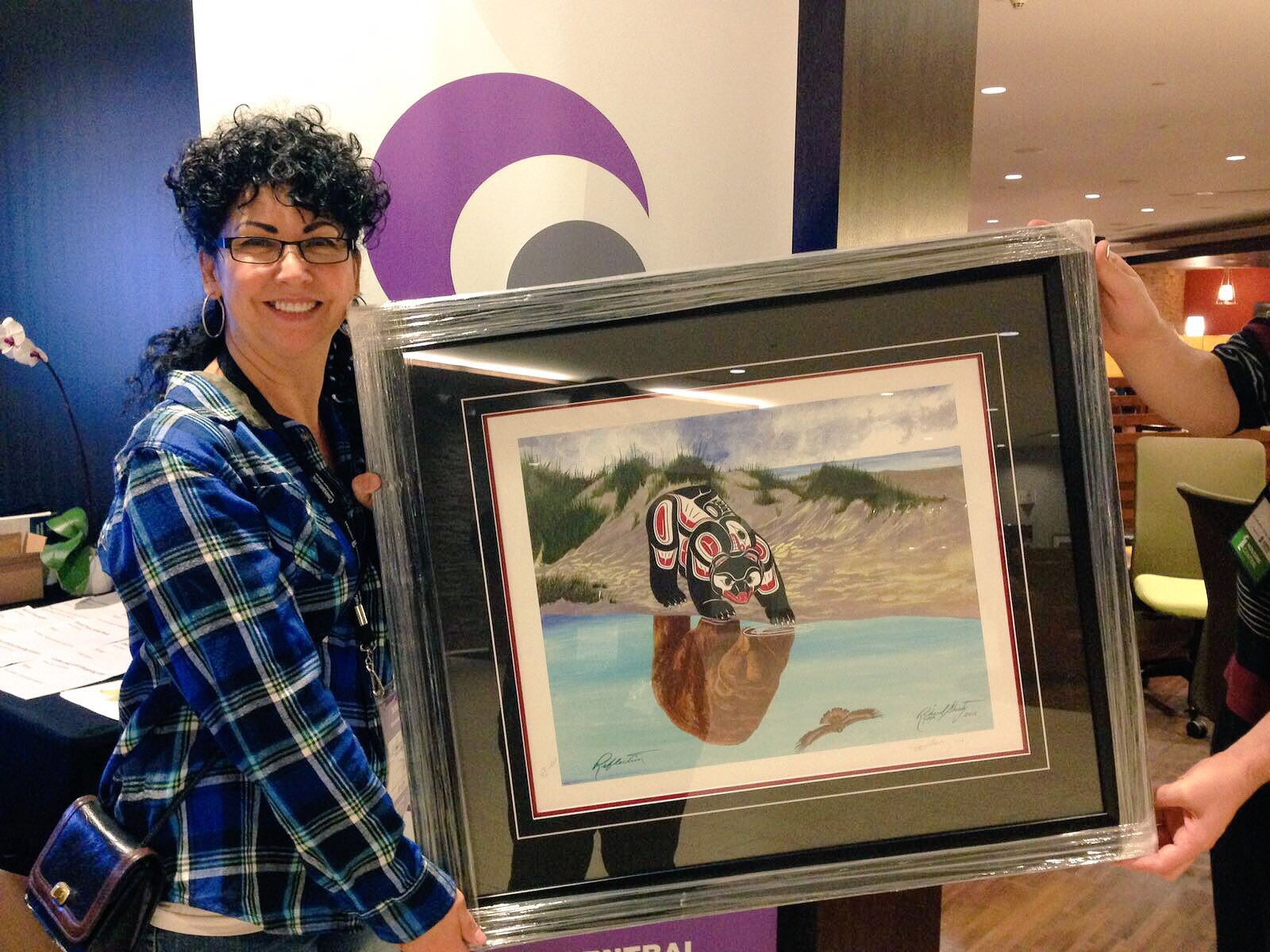 Congratulations to Dora from Aqanttanam Housing Society on winning this beautiful art piece from Urban Fair Trade Gallery! #HousingCentral https://t.co/7umR4lAzXX