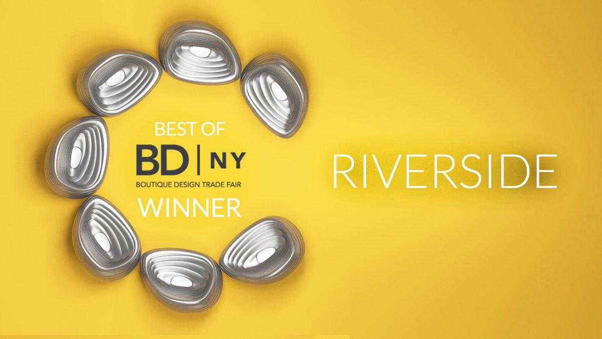 Winner of the BDNY Best of year award! The Riverside Lounge chair - https://t.co/QzsN64gFrV