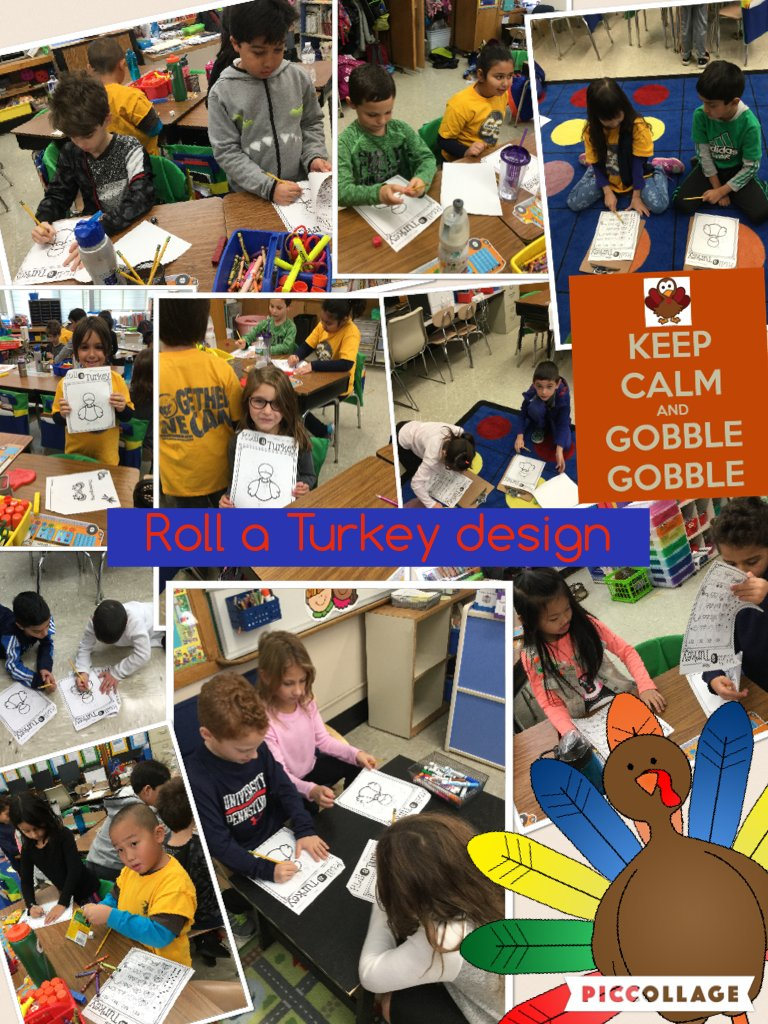 Roll a Turkey design #piccollage@ivysherman #seamanstrength https://t.co/Mr67fizkW6 https://t.co/bBplBmpUz6