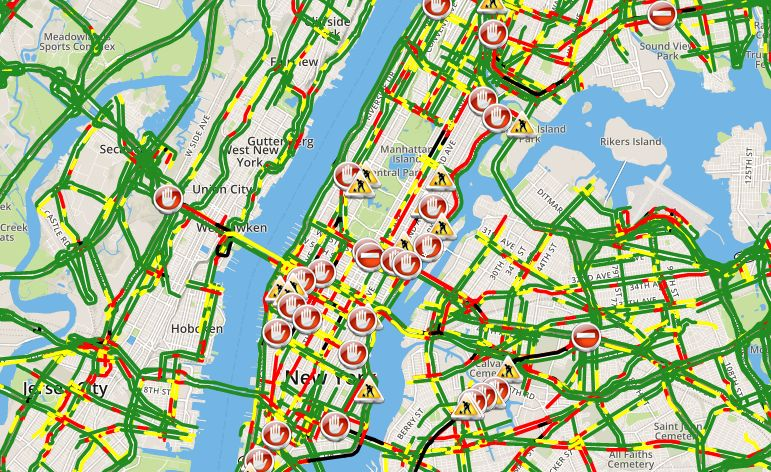 Nyc Live Traffic Map.Spectrum News Ny1 On Twitter Hitting The Roads For Thanksgiving