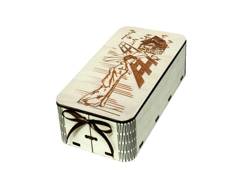 коробка подарочная с крышкой своими руками