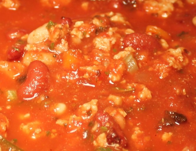 Turkey and Bacon Chili