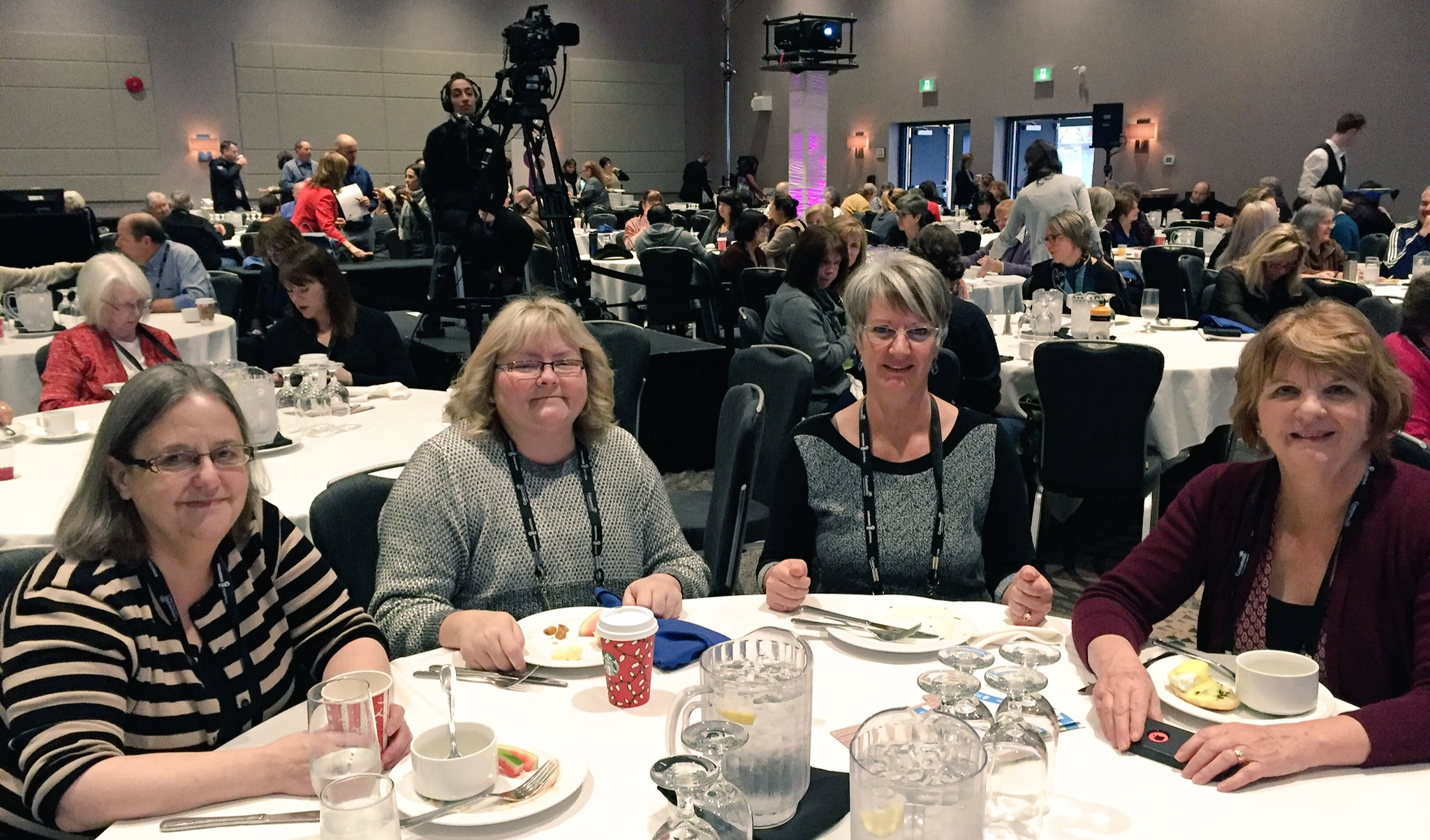 Meet Susan, Roxanne, Ann-Marie and Karen from Calgary and YVR, former strangers but now friends! #HousingCentral https://t.co/kKWCOh2RSv