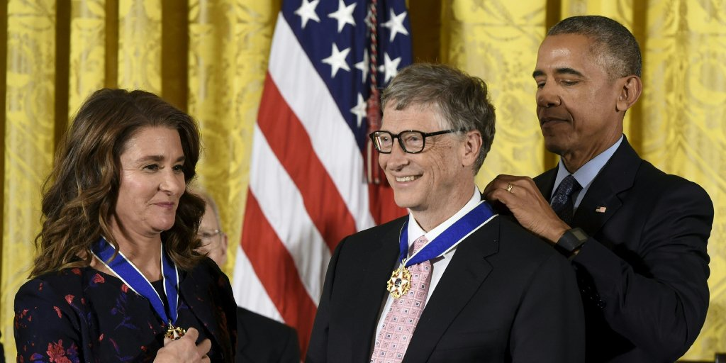 Our work is not possible without dedicated partners & staff around the world. We are happy to accept the Medal of Freedom on their behalf.