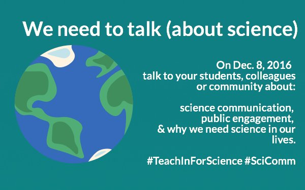 @RTC_SFSU: time to renew our commitment to communicate about science  #TeachInForScience w/ @Tessa_M_Hill @KristyKroeker @kj_nickols & you! https://t.co/Zj5FLZXGyD
