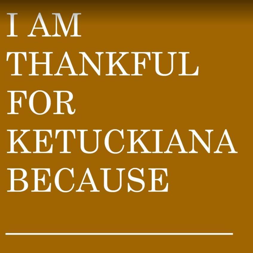 Fill in the blank. #Thankful #Kentuckiana