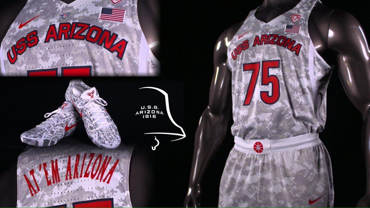 sports shoes c0a26 62070 Michigan state and arizona will honor troops with camo ...