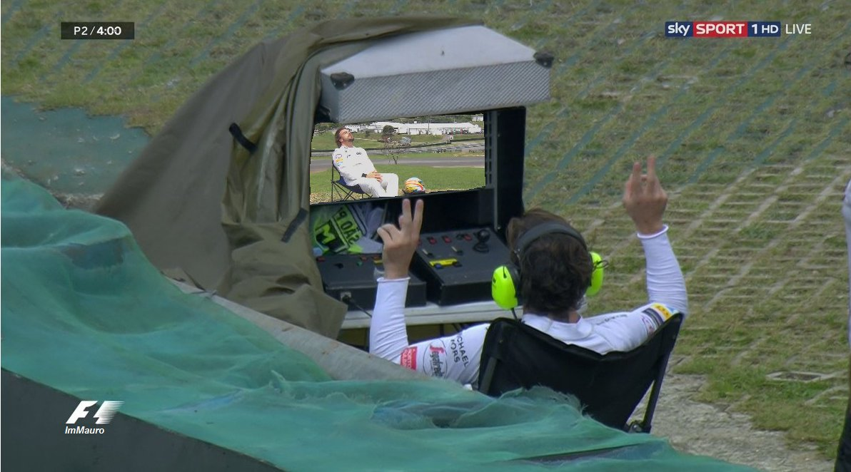 RT @Mauro_Serafin: Inception. #PlacesAlonsoWouldRatherBe #BrazilGP #FormulaMeme https://t.co/N83V3DAkTS