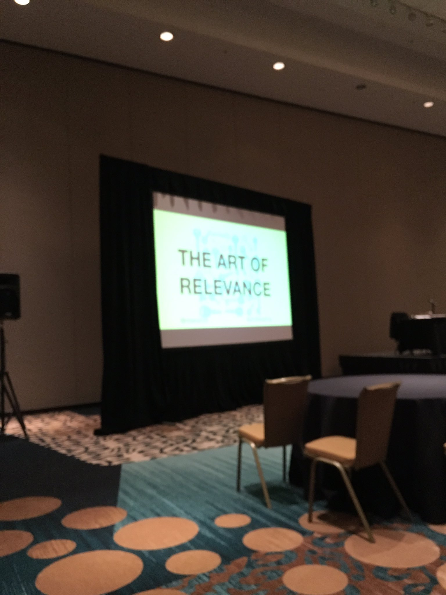 National Arts Marketing Conference in Austin. Checking out Nina Simon and Relevance!  #NAMPC https://t.co/J3RWMXrnG2