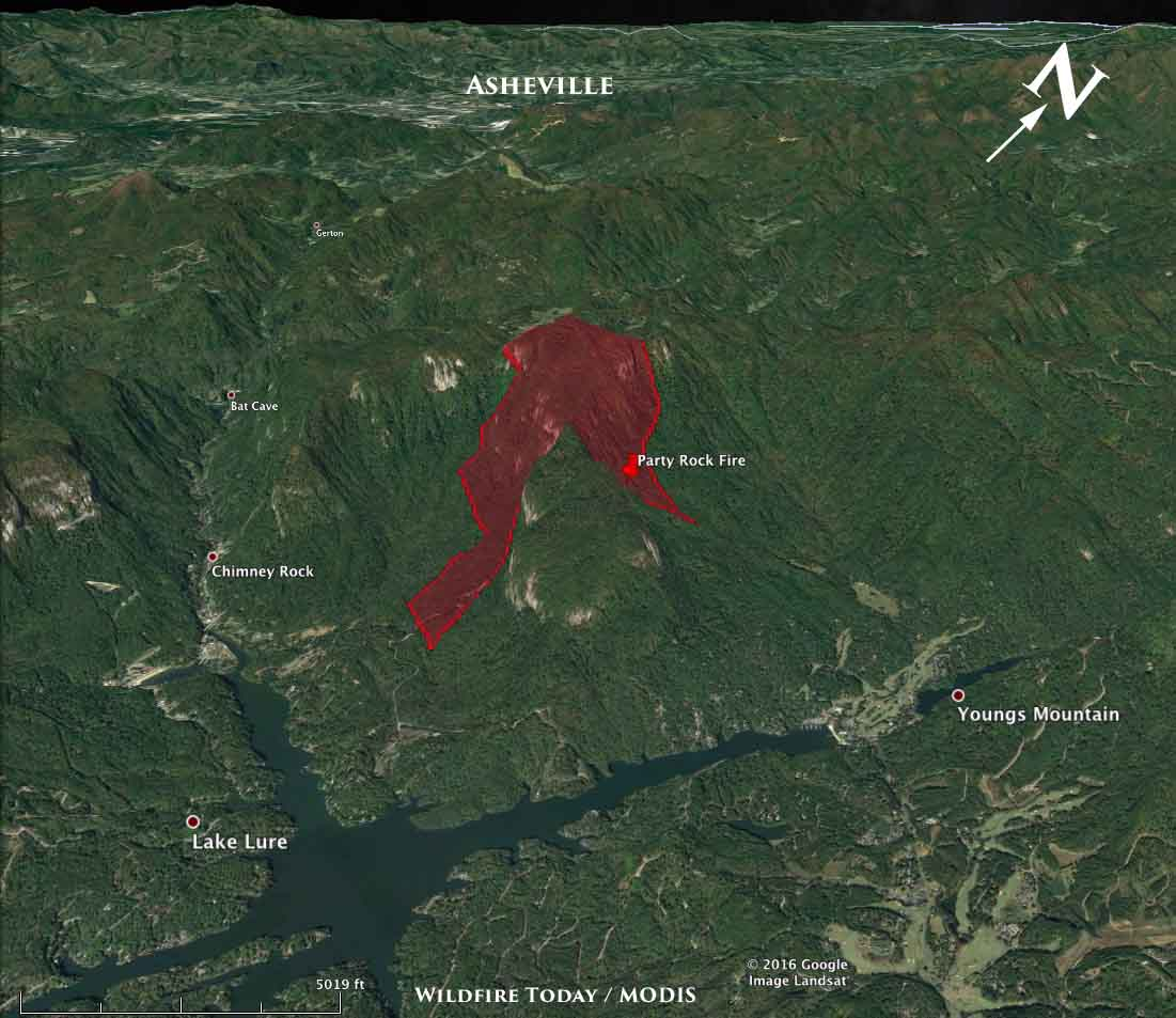 North Carolina Wildfire Map.Wildfire Today On Twitter 3 D Map Showing The Approximate