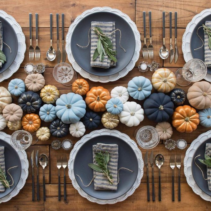 23 festive Thanksgiving tablescapes youll want to recreate: DIY
