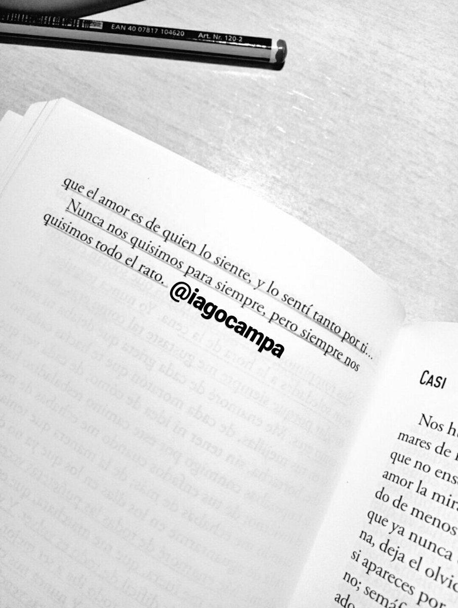 Iago De La Campa Sur Twitter El Amor Es De Quien Lo