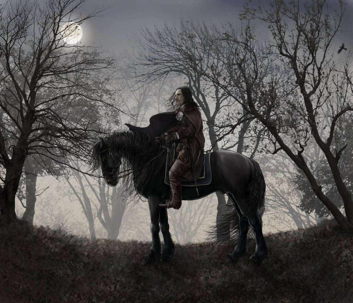 Paint And Roses On Twitter Fabien Marchal Runyantygh And His Stunning Black Horse Minos In The Moonlit Woods Versailles Full Size Here Https T Co S0jsyp3jpe Https T Co 28k8jdacnu