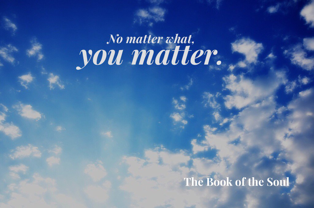 No matter what. You matter. #staystrong https://t.co/8vhIdD8q9v