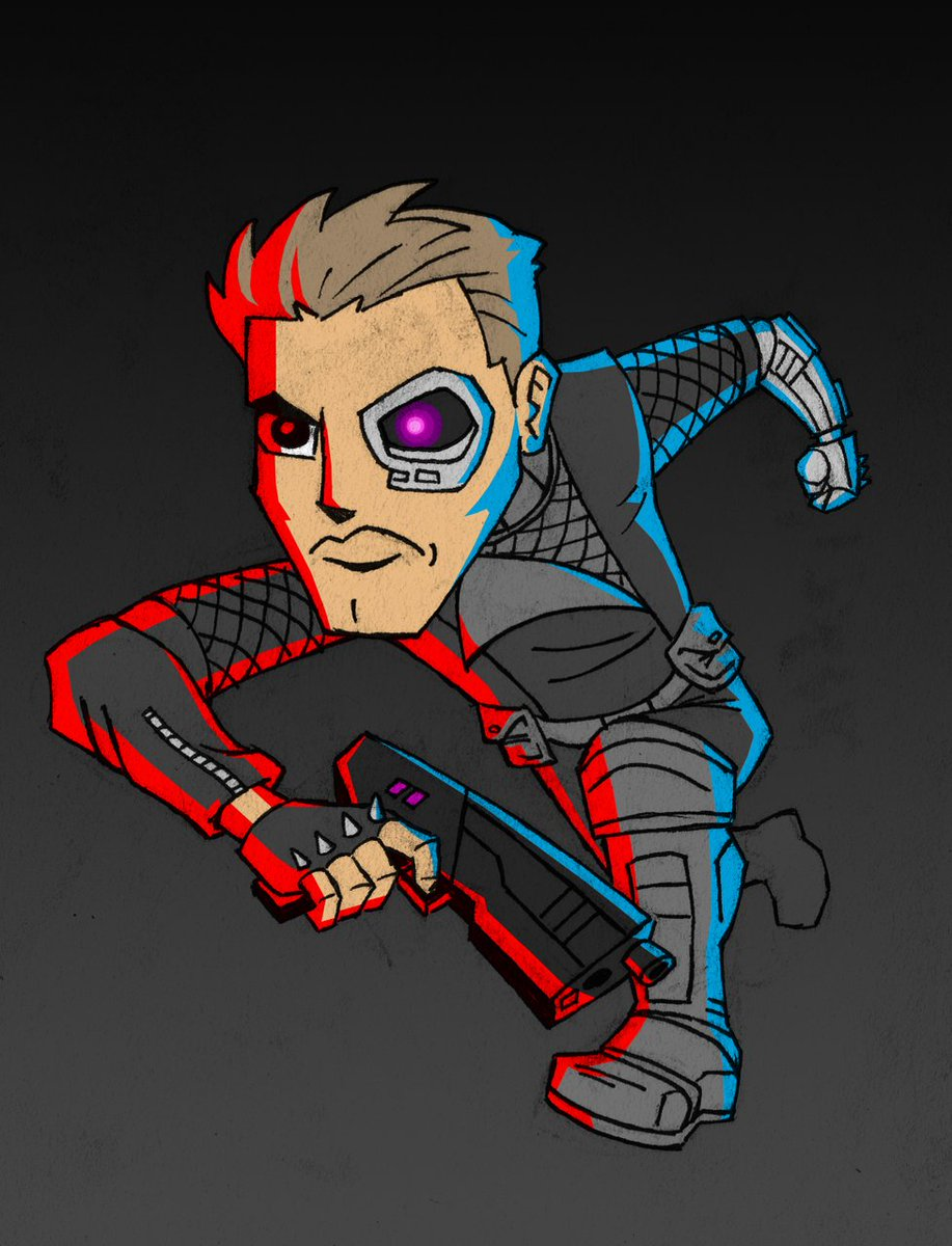 Far Cry 6 On Twitter The Year Is 2007 It Is The Future A Very Cool Sgt Rex Power Colt Drawn By Kubi Wan Https T Co Aevhgkjvoz