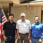 Thank you to 90 year old WWII vet Alva Finck.We installed a new GAF roof & Golden Pledge Warranty.  Thank you for your service. @gafroofing