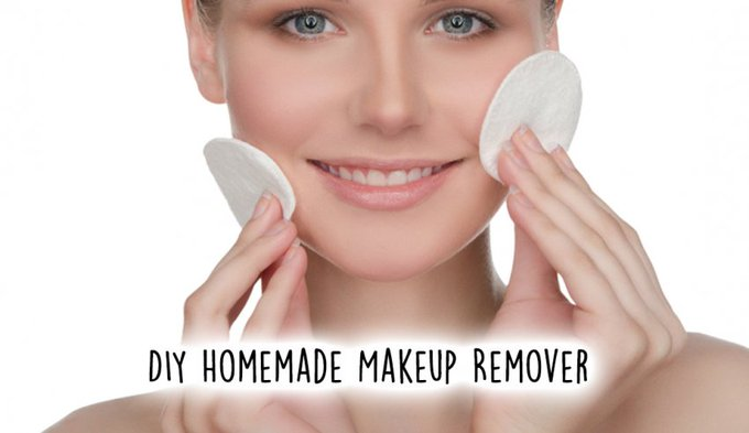 This DIY Homemade Makeup Remover Requires Only 4 Ingredientsdiy makeup beauty Gorge
