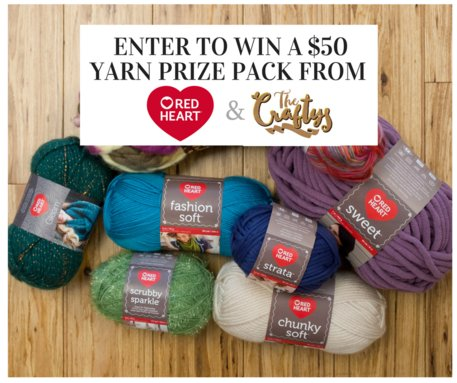 Win a $50 Yarn Prize Pack and Celebrate a New Category for The Craftys: Baby Crafts yarn