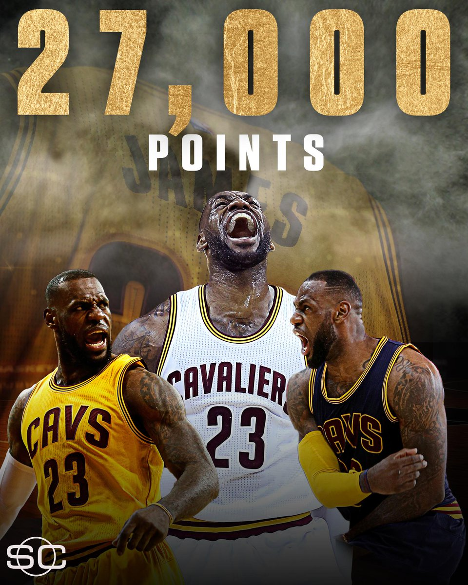Lebron : KING JAMES LeBron player NBA history reach career