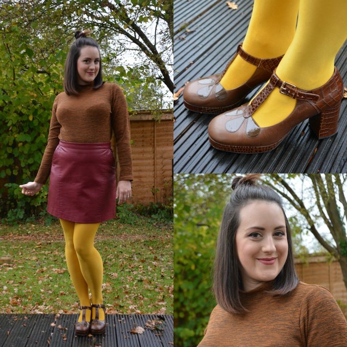 A 60s inspired outfit featuring tu_clothing and clarksshoes fbloggers OOTD