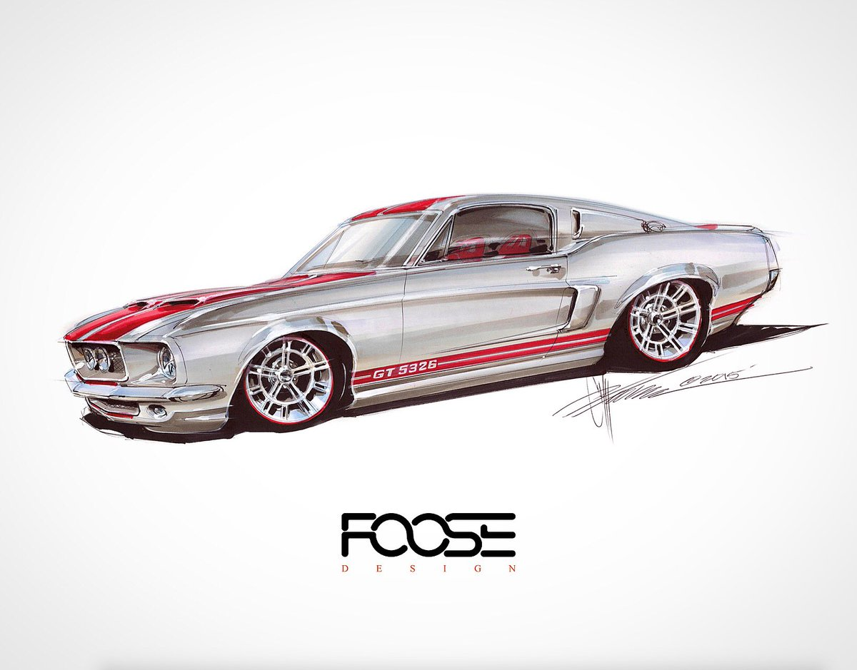Chip Foose On Twitter Quot Marcus Luttrell S 67 Fastback We