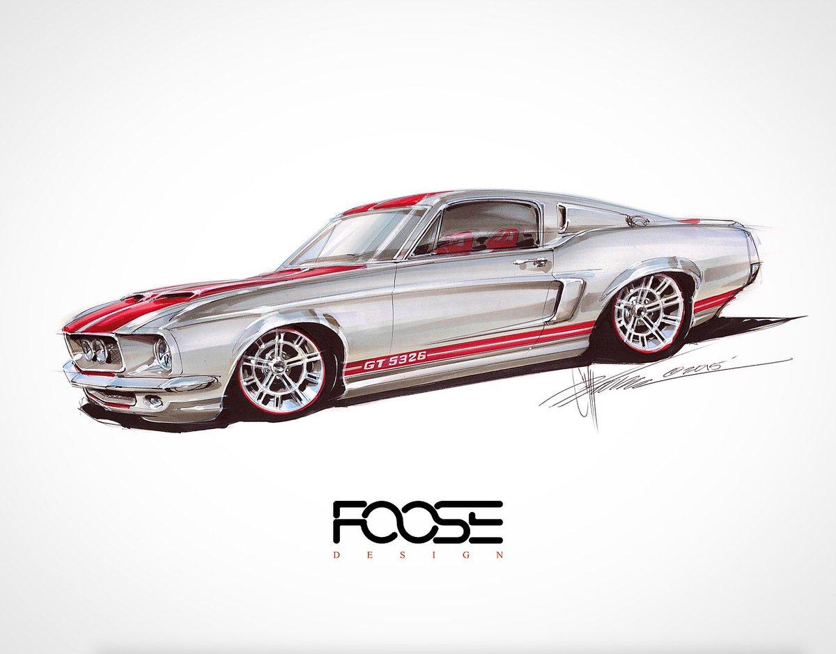 "Assez Chip Foose on Twitter: ""Marcus Luttrell's '67 #fastback we built  BZ62"