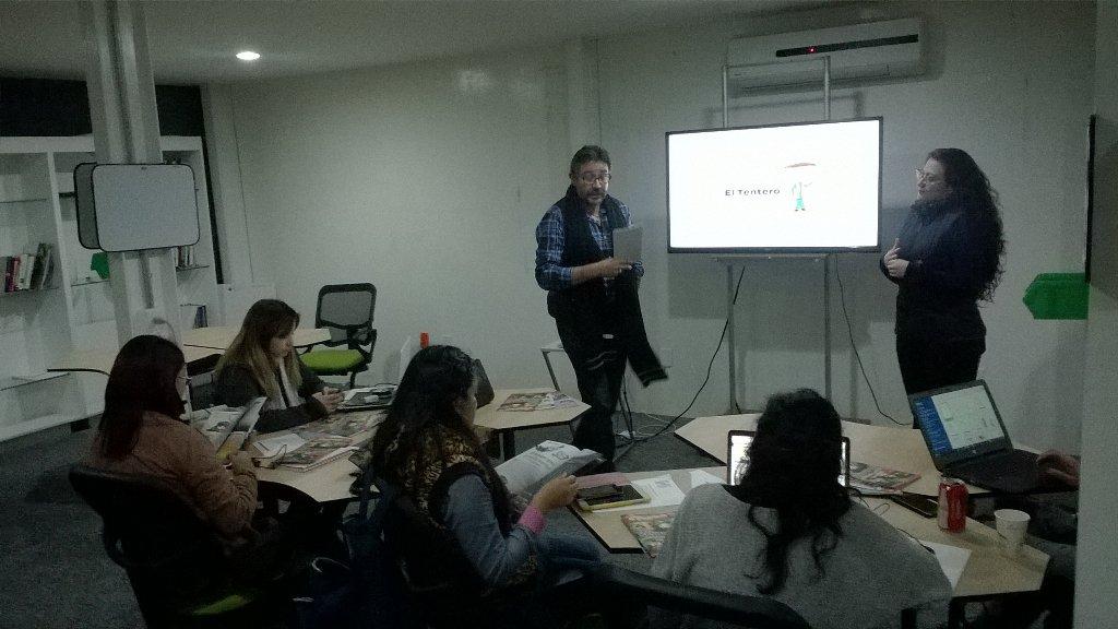 ¡Comenzamos La competencia en @Hache_Social! Trabajaremos hoy con @eltentero. #HacheSocial https://t.co/zztK6kiQ44