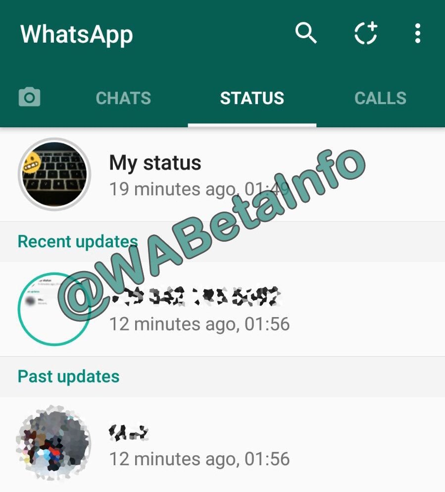 Wabetainfo On Twitter Whatsapp Beta For Android 216353