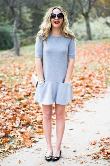 Oh hello weekend! The perfect easy weekend t-dress. ootd ashncarrington
